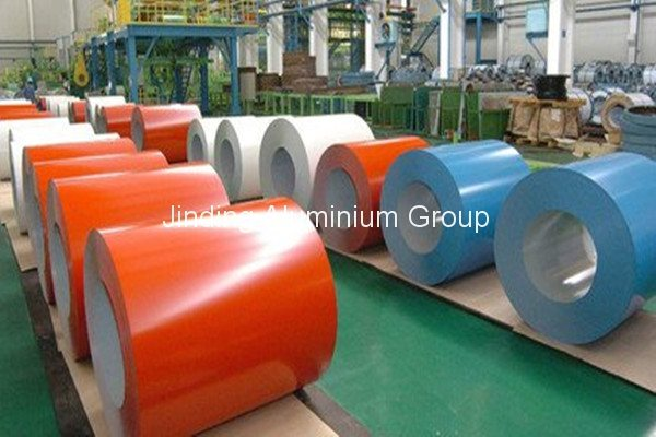 High Quality for Polyester/PVDF Prepainted Aluminum Coil for Jordan Factories
