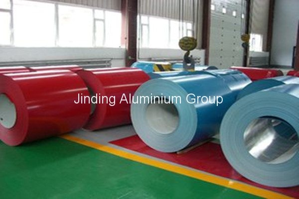 China Top 10 PVDF Coated Aluminum Coil for St. Petersburg Factories
