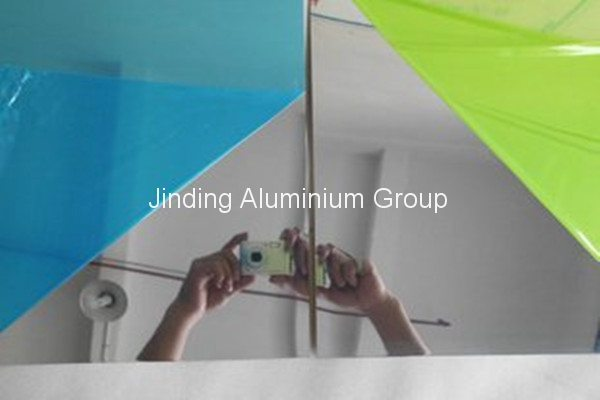 Wholesale Price Reflective Aluminum Mirror Sheet to Jakarta Manufacturer