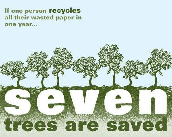9. Save trees
