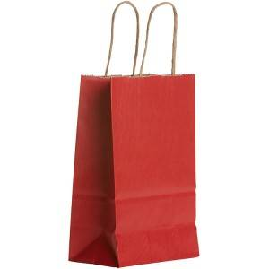 Personalized Logo Solid Color Kraft Paper Bag