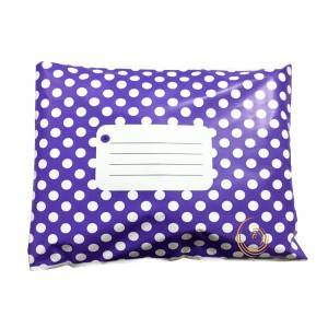 Dots printing poly mailing bag