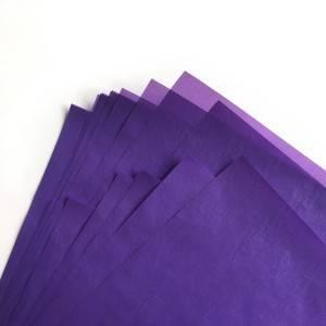 21gsm solid color printed tissue paper wrapping