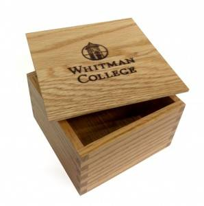 Lid box custom logo wooden box