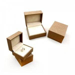 Customized rigid ring packing box with competitive price