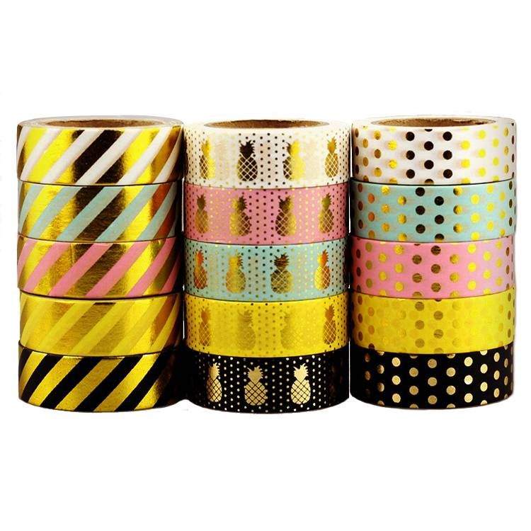 Chinese Professional Masking Tape Gold -