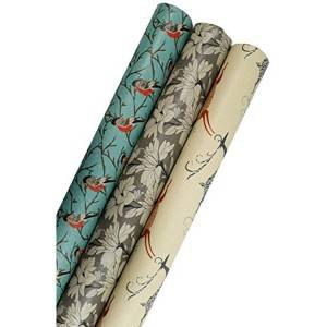 New product fancy design packaging printed eco-friendly gift wrapping paper