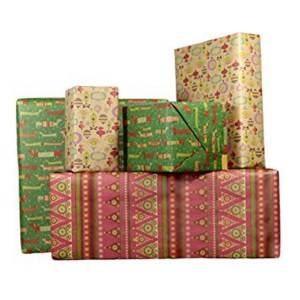 Custom design packaging printed eco-friendly wrapping paper