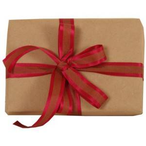 Accept custom order 80g kraft paper roll for wrapping gift