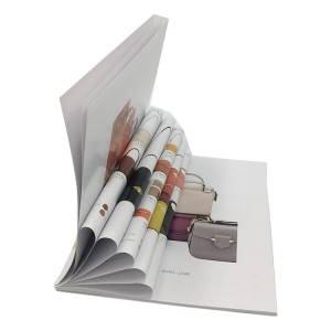 Hot sale Custom Design Paper Catalogue Printing Service