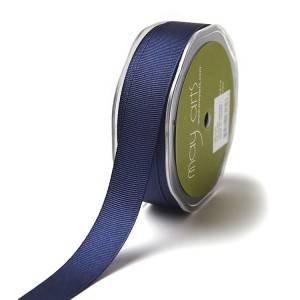 Eco friendly high quality craft solid color grosgrain ribbon