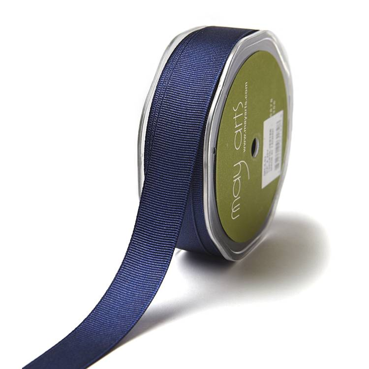 Eco friendly high quality craft solid color grosgrain ribbon Featured Image