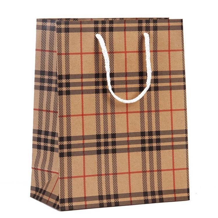 Factory directly supply Custom Print Kraft Paper Bag -