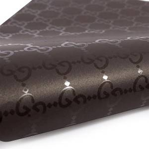 Spot UV black printing wrapping paper