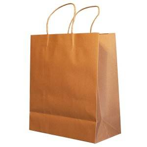 Eco Ma-recycle nga customized Drawstring Paper Gasa Bag, Gasa Paper Bag