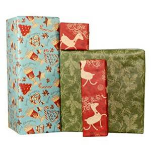Embossed printed gift wrap paper manufacturer