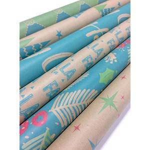 4C offset printing gift wrap paper rolls