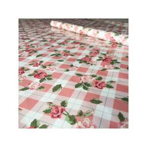 Lovely flower pattern gift wrapping paper roll