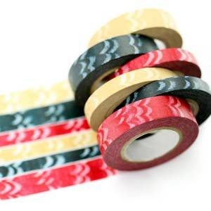 new design of colorful printing washi paper tape
