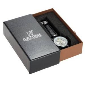 Tiradera kartoia Watch Box pertsonalizatua logotipoa With Enbalaketa