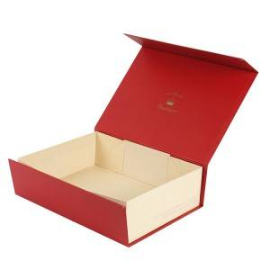 Logo Custom Special Style Color Gift Foldable Packing Box