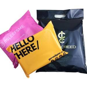 Wholesale Self malagkit Custom Print Clear Poly Print Mailer Bag