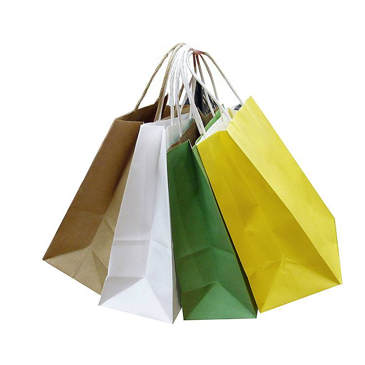 Good Wholesale Vendors Promotional Paper Shopping Bags Brown Kraft Paper Carrier Bag Featured Image
