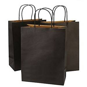 Recycled Paper Shopping Bag Packing for Clothes Retailer
