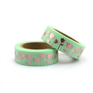 Factory wholesale Writing Printed Custom Washi Japanese Paper Tape For Decoration And Gift Box