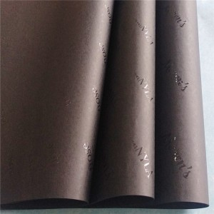 Fashionable custom printed tissue wrapping paper for products packaging clothes wrapping tissue paper roll