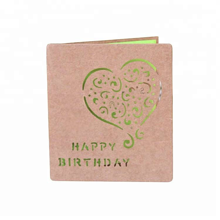 Wholesale Dealers of 3d Laser Cut Pop Up Greeting Cards For Birthday