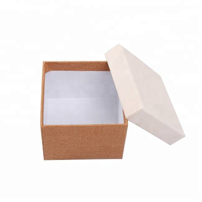 Custom logo cheap price retail paper watch packing box with lid