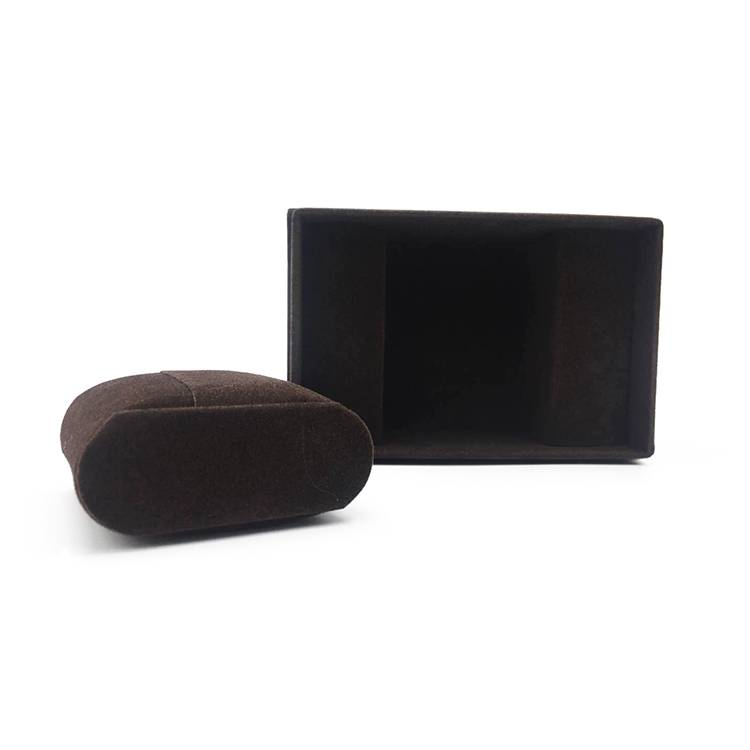 Luxury rectangle retail wooden watch box packing with lid