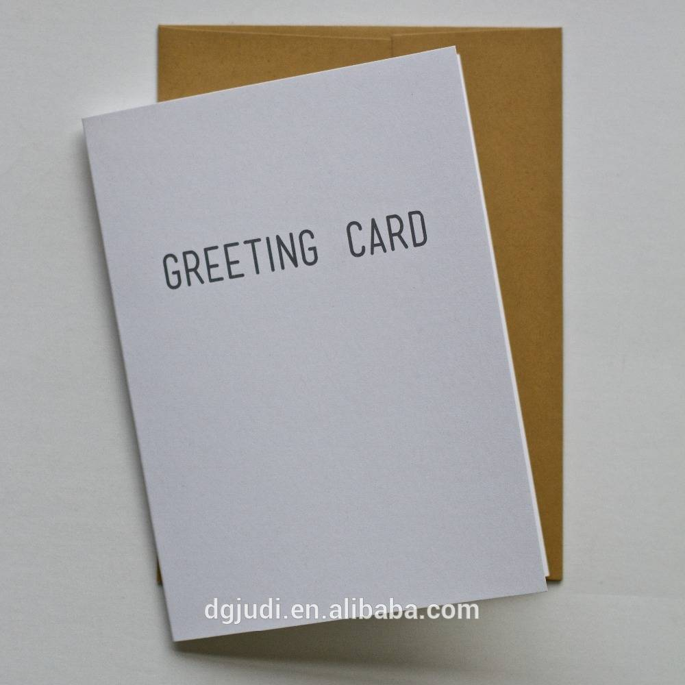 China Supplier Wholesale Custom Greeting Cards for Christmas season