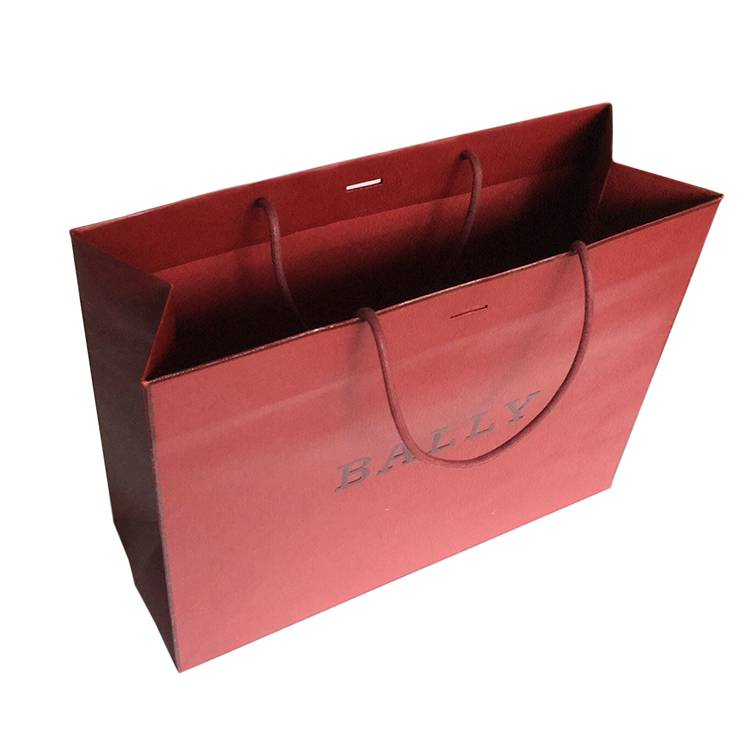 Short Lead Time for Customised Paper Bag With Logo -