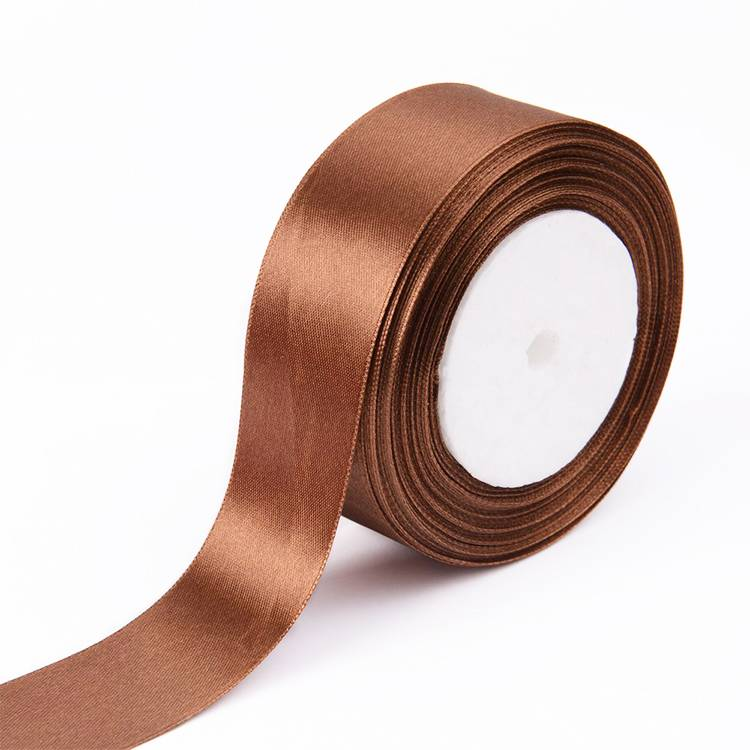 Polyester fabric high end printed satin ribbons with customize design
