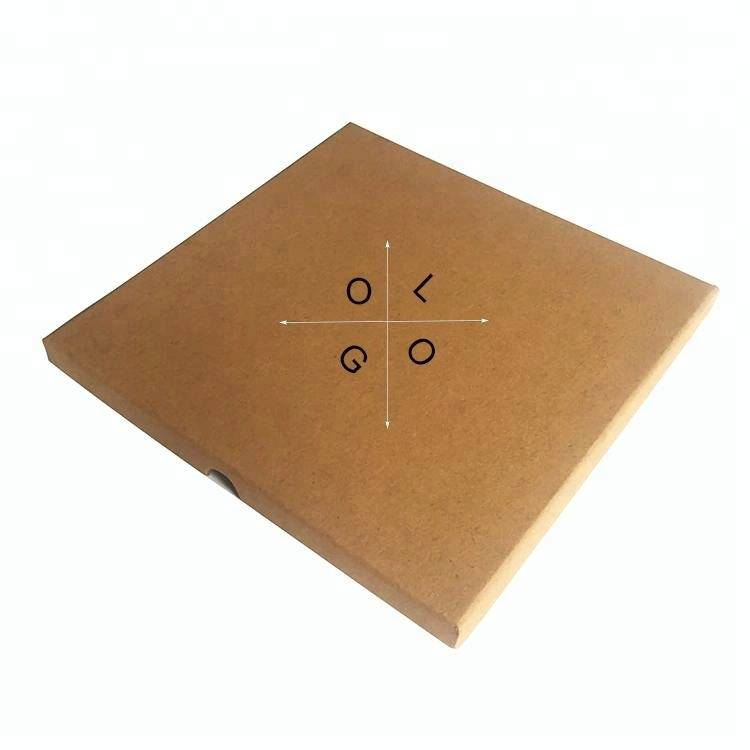 Custom square clothes packing box gift kraft paper box with printed logo