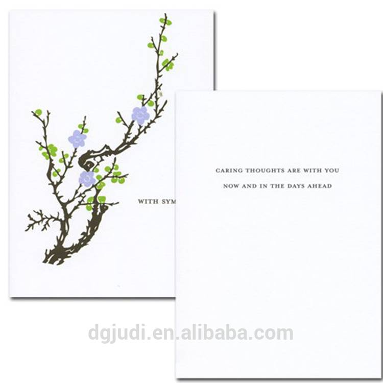 Sympathy Printing Greeting Card for Mother's Day, Teachers Day Featured Image
