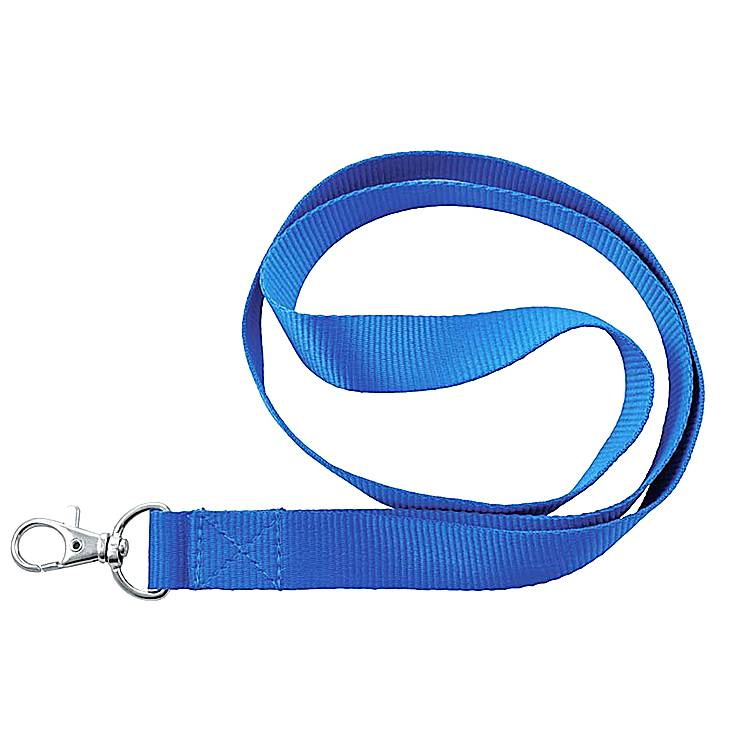 Solid color professional printed lanyard custom polyester holder lanyard