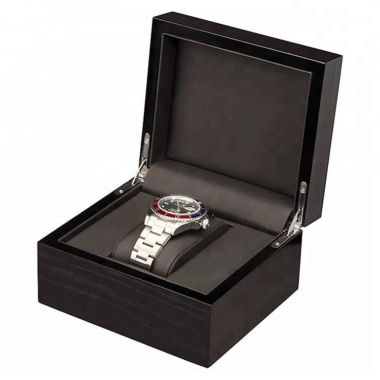 Luxury Ihowuliseyili Watch Wooden Box bhokisi Watch Bonisa