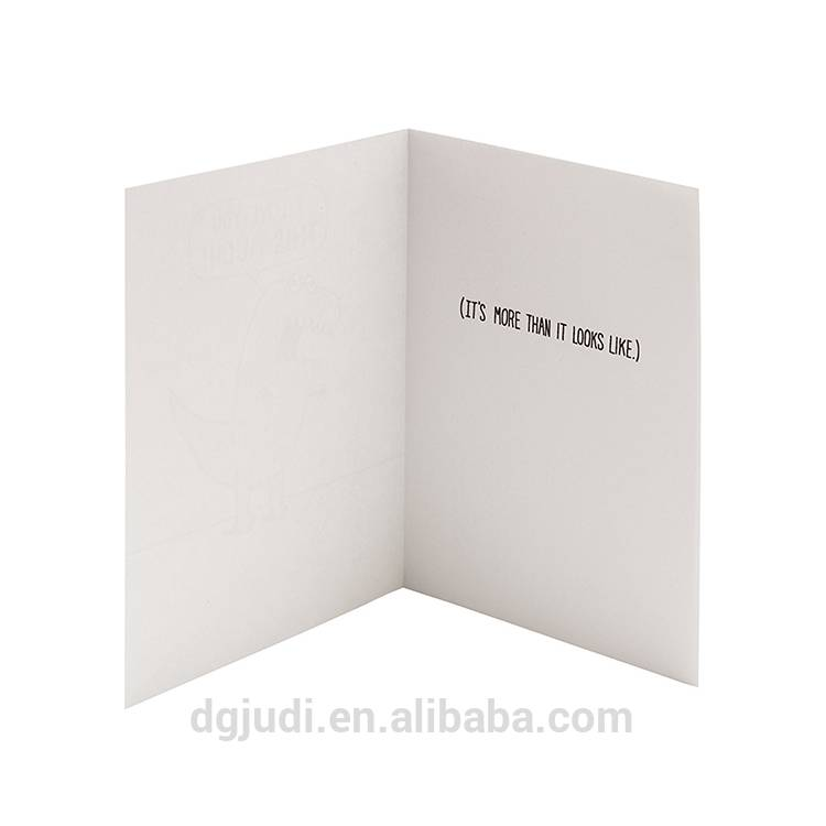 Cute Greeting Card For Birthday,Wedding and Party