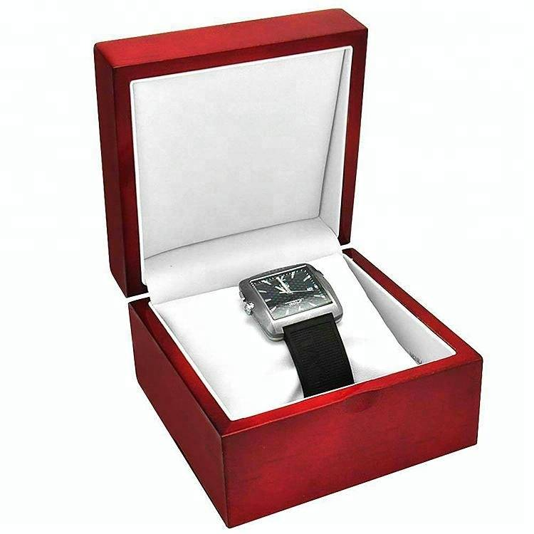 High Glossy Polishing Finished Wooden Box for watch display