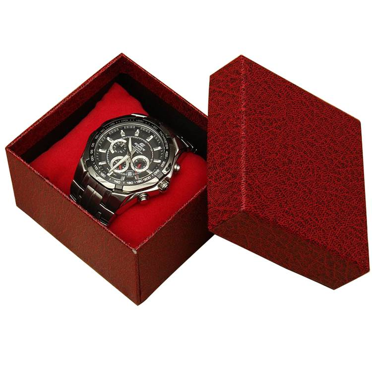 Custom logo special paper watch box with low price