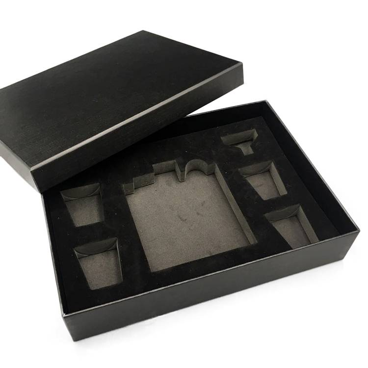 Factory customize 304 stainless steel hip exclusive flask set packaging