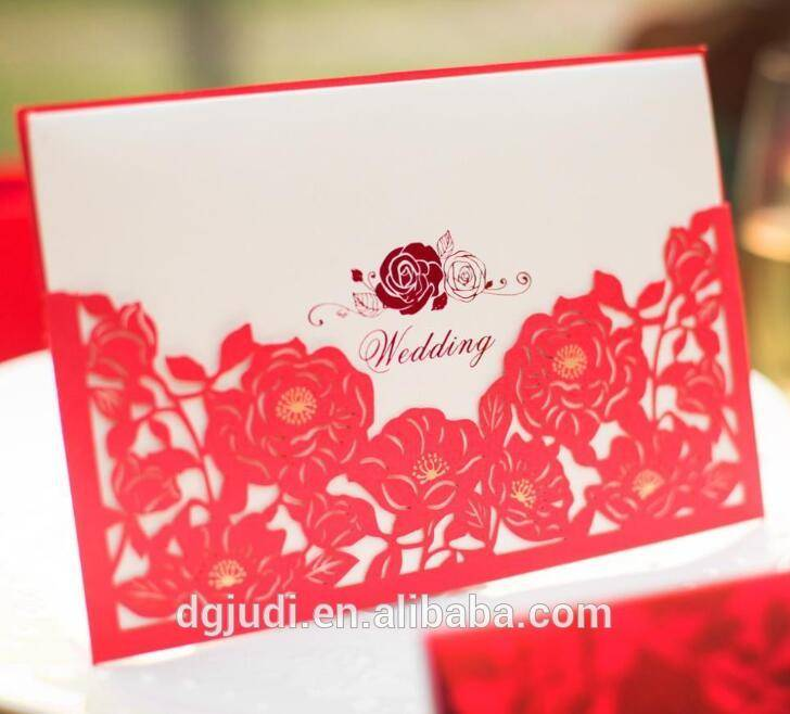 customized wedding invitation, thank you greeting card wholesale Featured Image