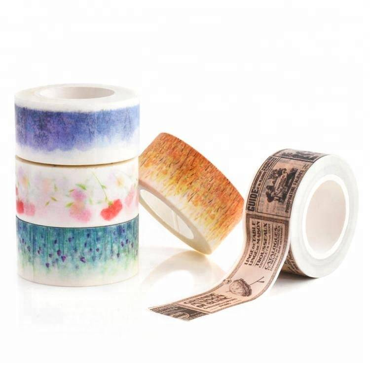 10mm x 7m Washi Masking Tint Tape for Christmas, Birthday, Party, Festival