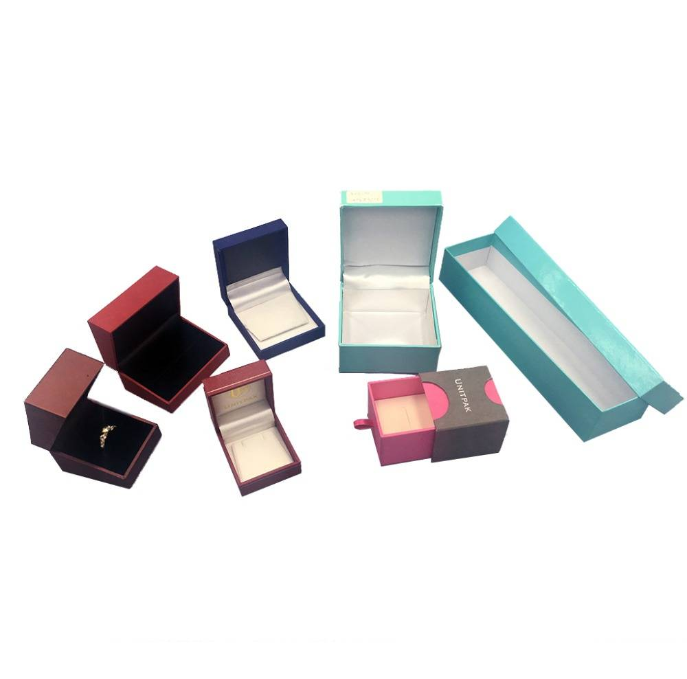 Wholesale custom various design small paper cosmetic, jewelry box for storage