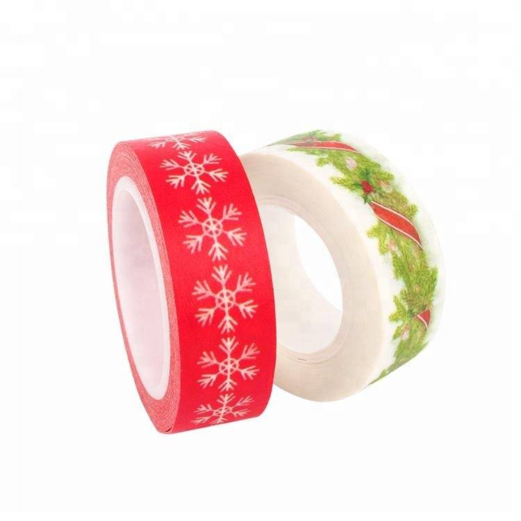 Custom printed washi Tape adhesive masking tape