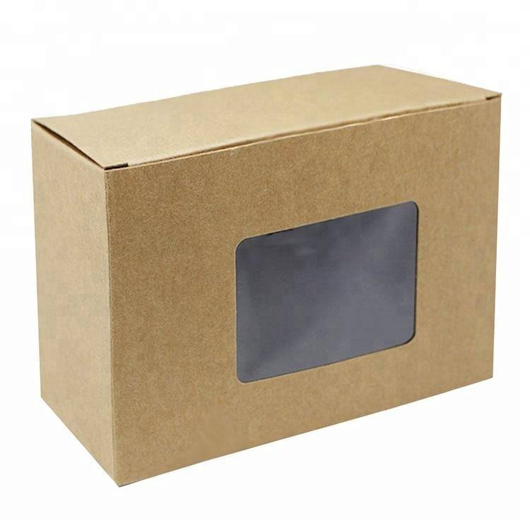 Professional window design custom paper box for gift packing