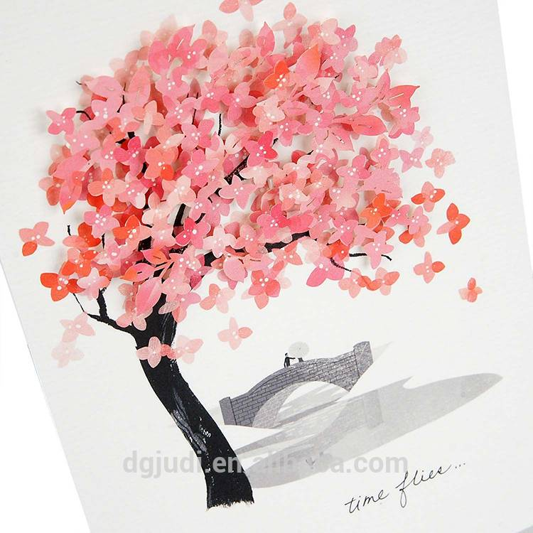 Elegant Colored Greeting Cards Great for Sending Your Love (with Envelope)